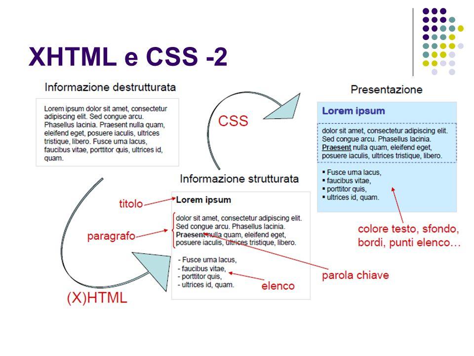XHTML: sintassi