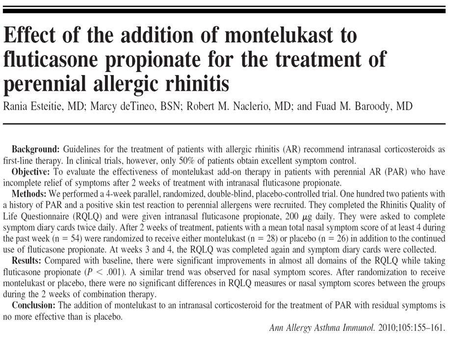 Goldbart AD et all., Pediatrics Sett.2012; 130:1-6.