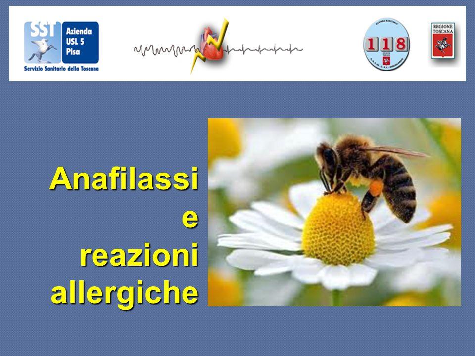 Anafilassi Anafilassie reazioni allergiche
