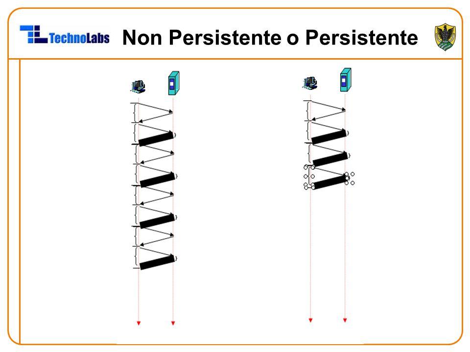 Non Persistente o Persistente