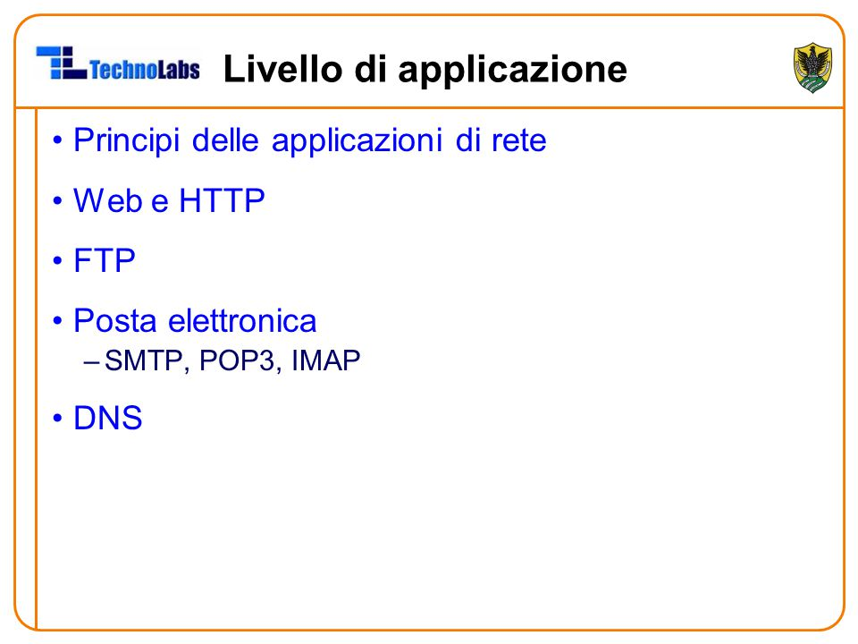 Richieste HTTP ≥ 1.0 Linee di testo (ASCII).
