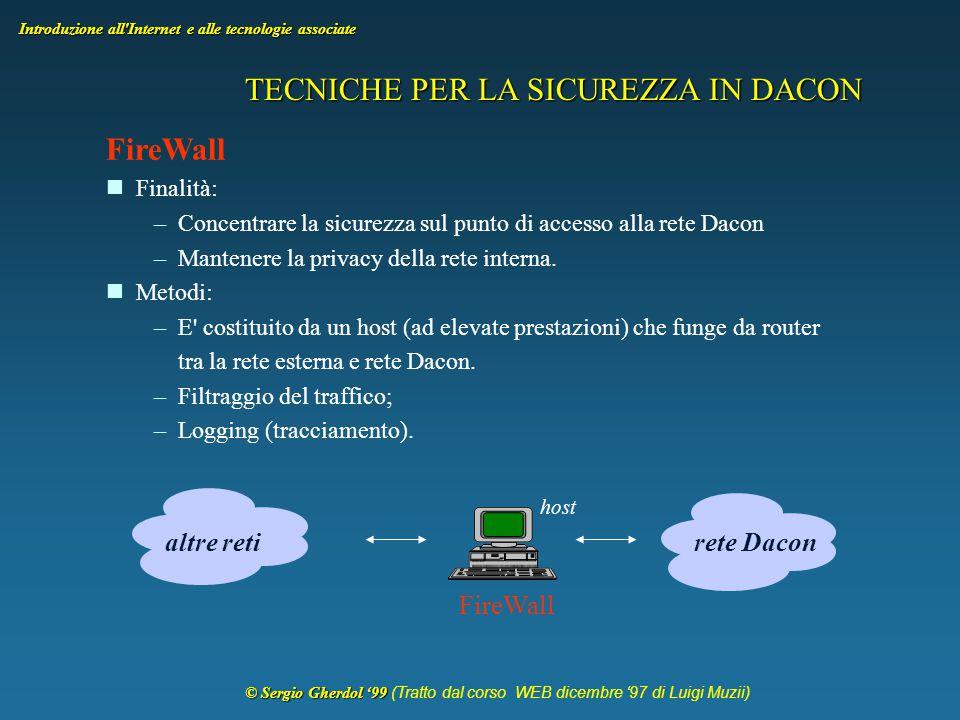 © Sergio Gherdol '99 © Sergio Gherdol '99 (Tratto dal corso WEB dicembre '97 di Luigi Muzii) Introduzione all Internet e alle tecnologie associate Arresto del download di una pagina HTML