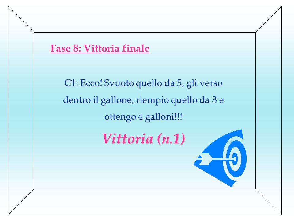 Fase 8: Vittoria finale C1: Ecco.