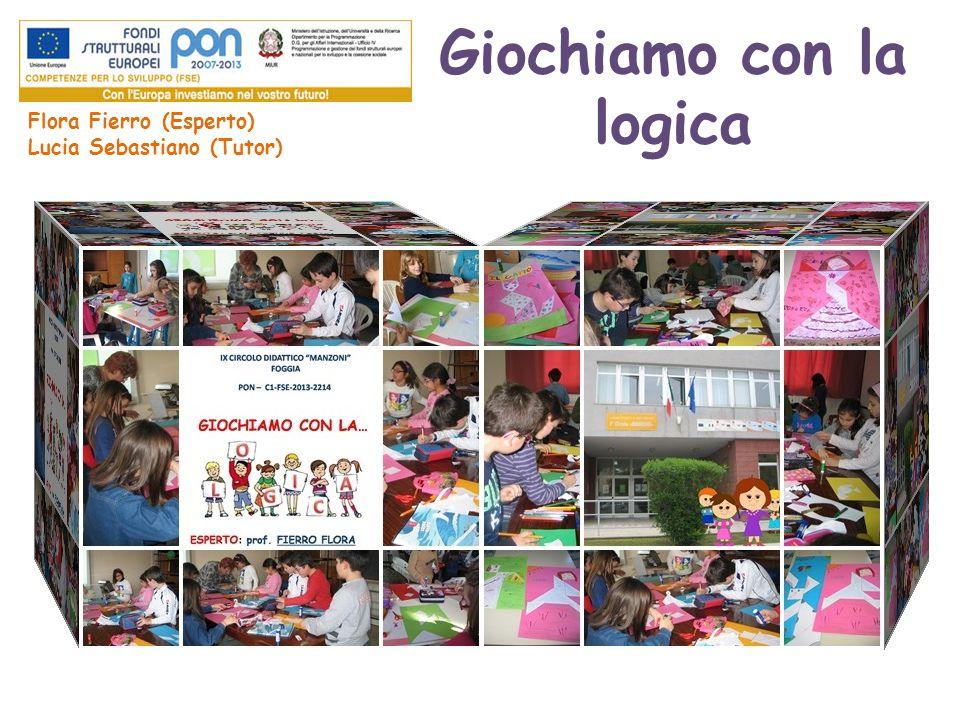 Giochiamo con la logica Flora Fierro (Esperto) Lucia Sebastiano (Tutor)