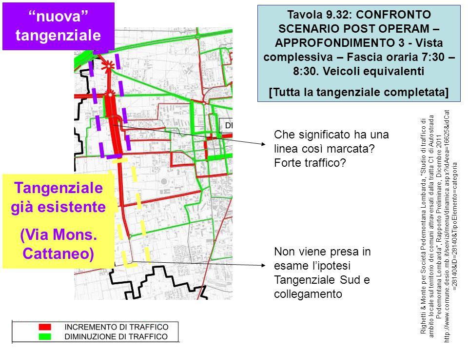 Ulteriori considerazioni Questa analisi, peraltro su fonte di parte, riguarda solo gli aspetti di impatto di traffico.