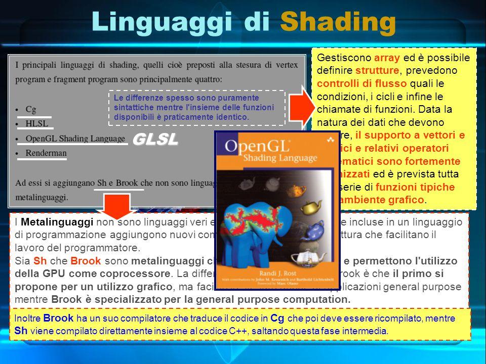 I Metalinguaggi non sono linguaggi veri e propri ma delle librerie che incluse in un linguaggio di programmazione aggiungono nuovi comandi di facile lettura e scrittura che facilitano il lavoro del programmatore.