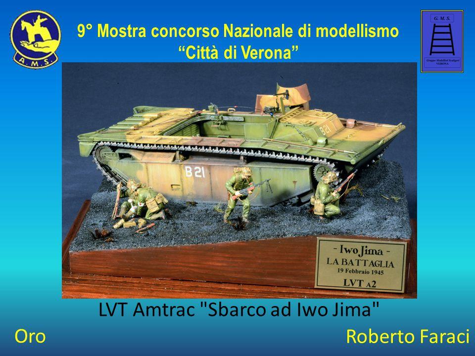 Umberto Ponzecchi M4 Tractor + 155 LongTom 9° Mostra concorso Nazionale di modellismo Città di Verona Best Of Class