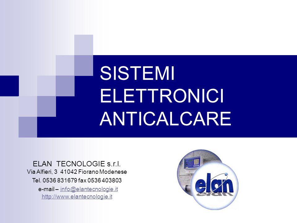 SISTEMI ELETTRONICI ANTICALCARE ELAN TECNOLOGIE s.r.l.