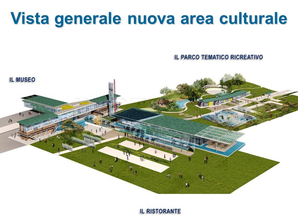 Vista generale nuova area culturale