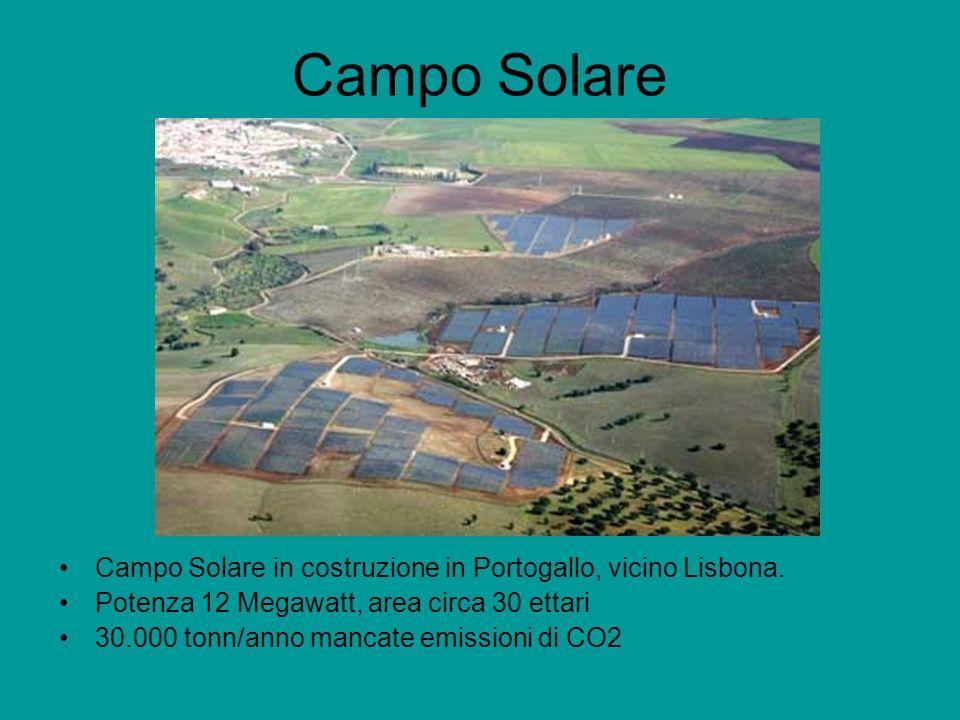 Campo Solare Campo Solare in costruzione in Portogallo, vicino Lisbona.