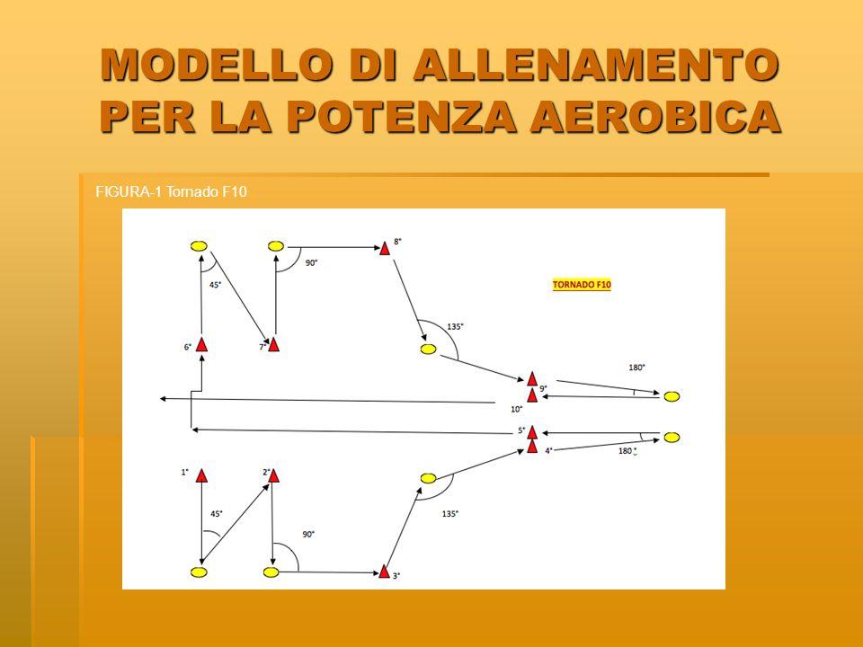 MODELLO DI ALLENAMENTO PER LA POTENZA AEROBICA FIGURA-1 Tornado F10