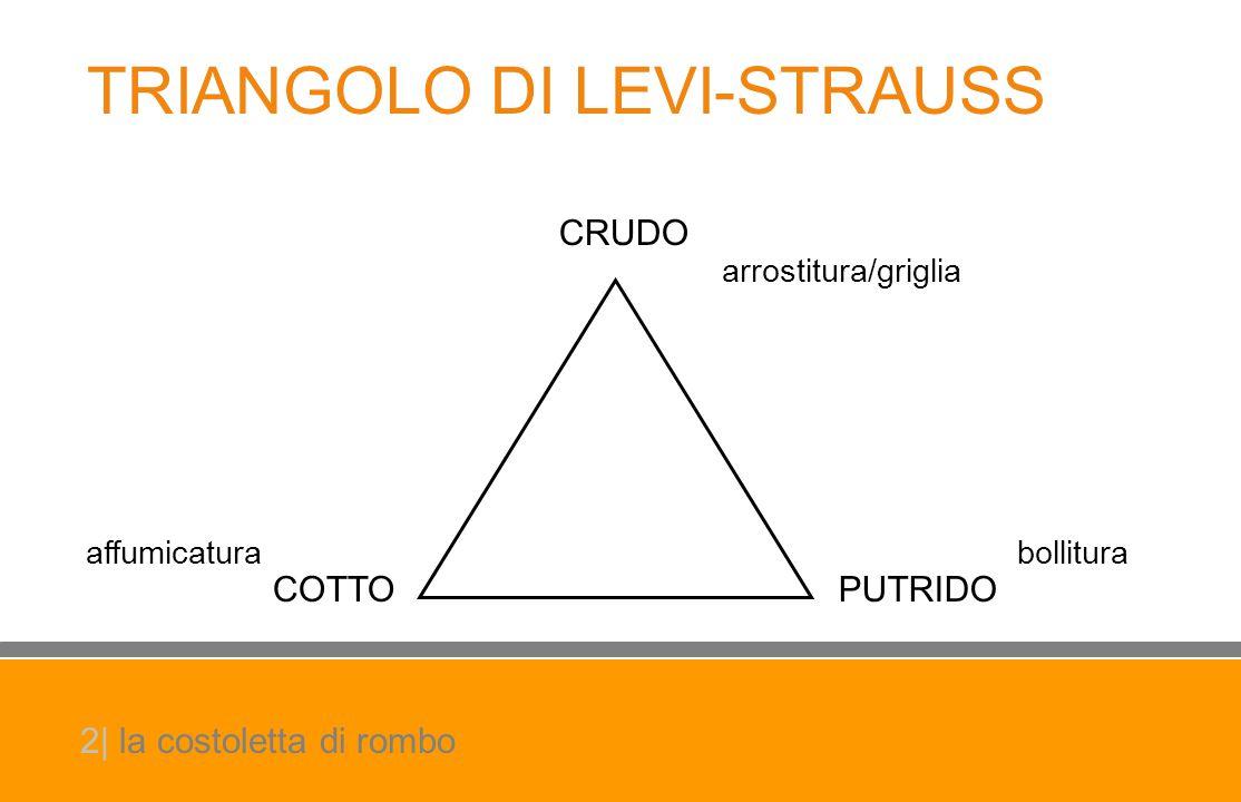 CRUDO COTTOPUTRIDO TRIANGOLO DI LEVI-STRAUSS affumicatura arrostitura/griglia bollitura 2| la costoletta di rombo