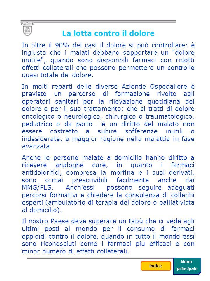 Menu principale indice Torna a Hospice A. O. OSPEDALI RIUNITI - HOSPICE DI BORGO PALAZZO Via Borgo Palazzo 130 – Bergamo Tel. 035/390640 (reparto) La