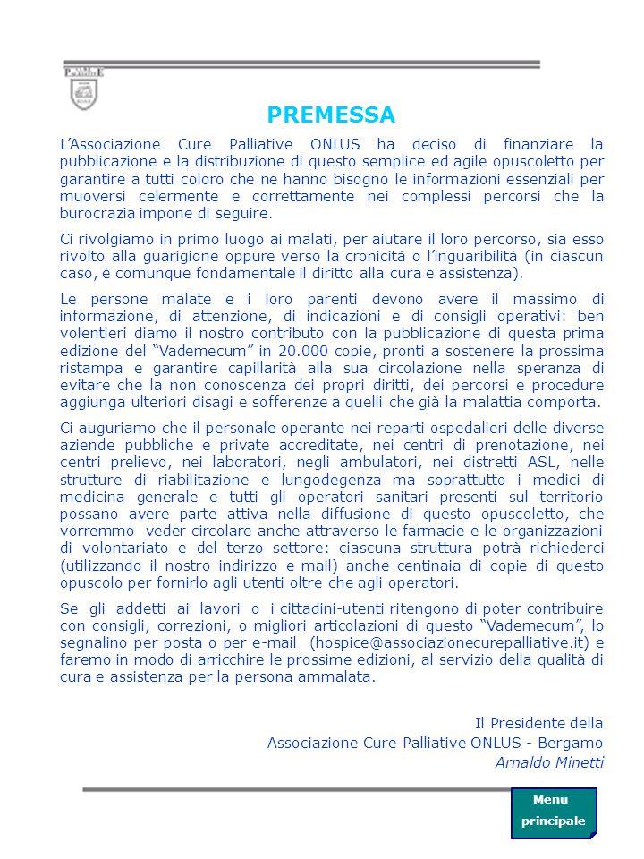 Menu principale indice INDIRIZZI UTILI Sedi distrettuali dell'ASL di Bergamo e ospedali Sedi di distretto dove inoltrare la domanda di Invalidità Civile Sedi di distretto dove inoltrare la richiesta di protesi e ausili Sedi associative
