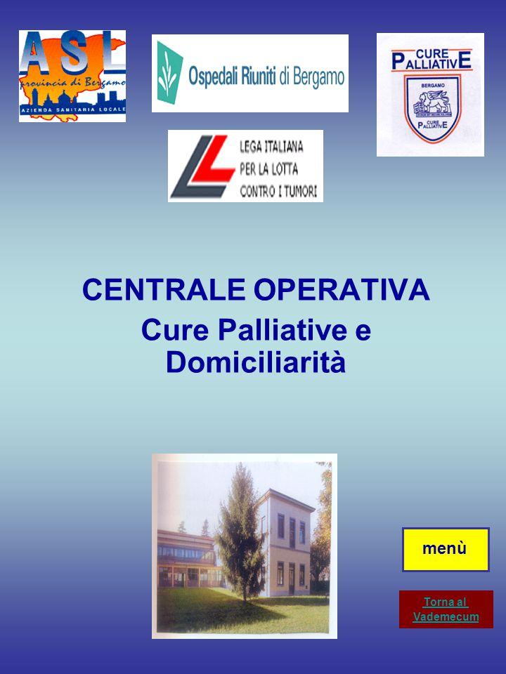 Il servizio Programmazio ne Controllo Cure Domiciliari augura buon lavoro e si rende disponibile per qualsiasi chiarimento Sede centrale del servizio