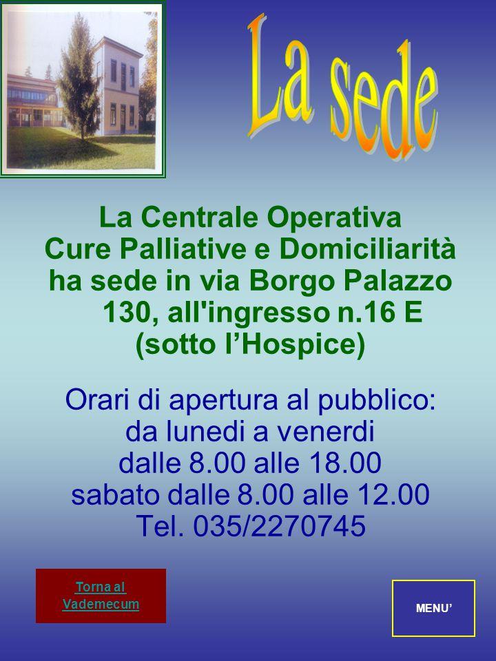 IL PROTOCOLLO D'INTESA Fra le parti: ASL della Provincia di Bergamo A.O. Ospedali Riuniti di Bergamo Associazione Cure Palliative Lega contro i Tumori