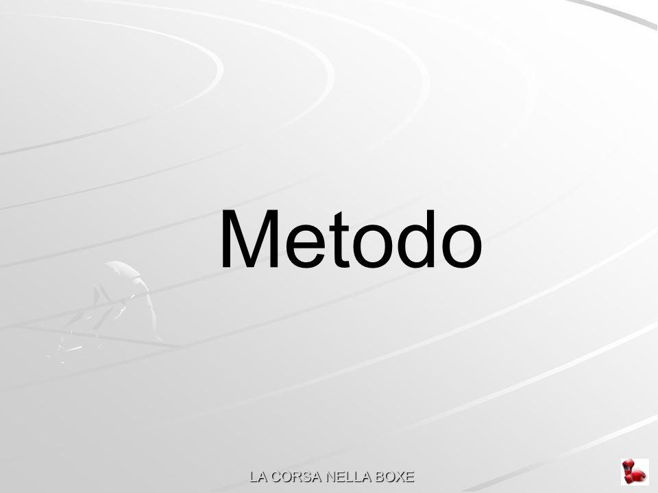 Metodo LA CORSA NELLA BOXE
