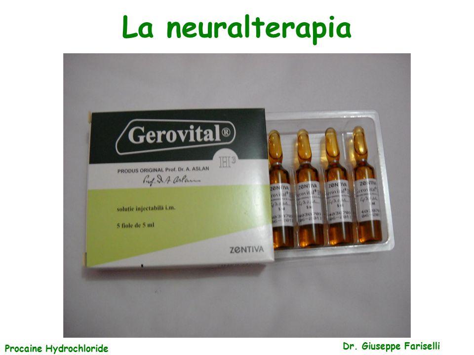 La neuralterapia Dr. Giuseppe Fariselli Procaine Hydrochloride