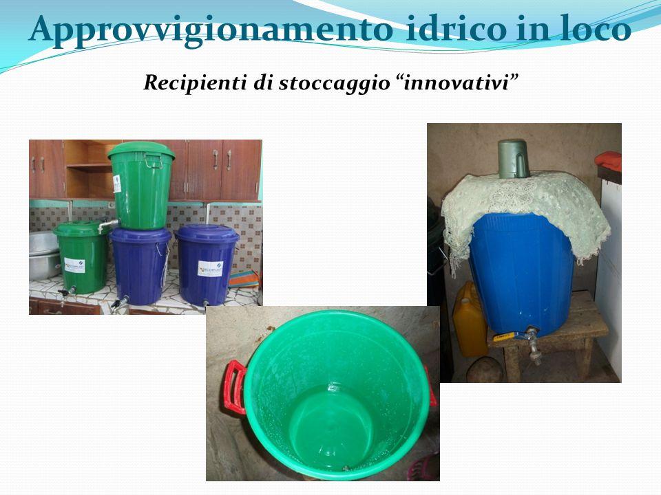 """Recipienti di stoccaggio """"innovativi"""" Approvvigionamento idrico in loco"""