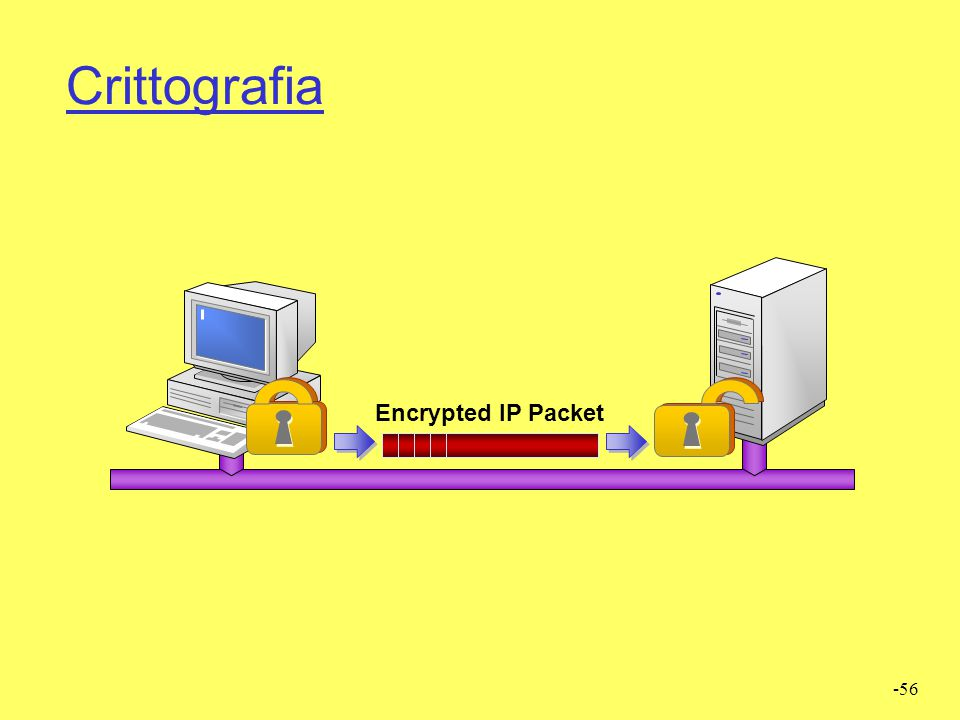 -56 Crittografia Encrypted IP Packet