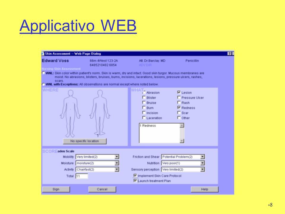 -9 Applicativo WEB