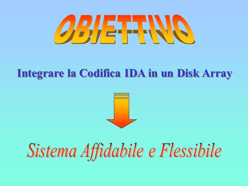 Integrare la Codifica IDA in un Disk Array