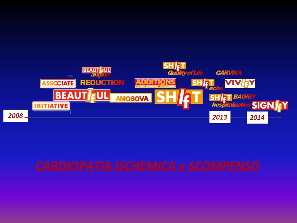 2008 2013 CARDIOPATIA ISCHEMICA e SCOMPENSO 2014