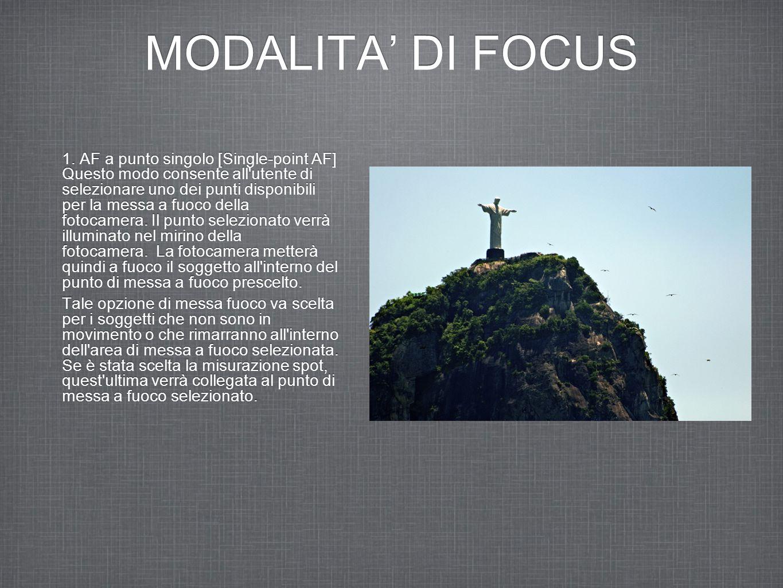 MODALITA' DI FOCUS 1.