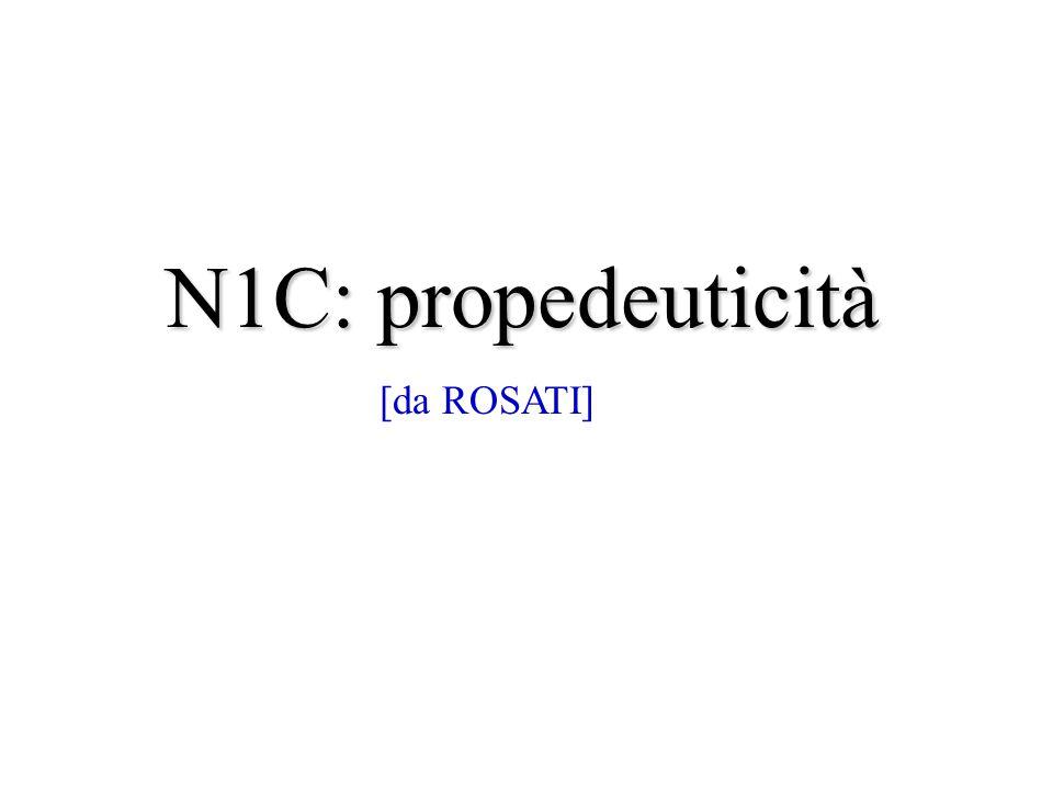 N1C: propedeuticità [da ROSATI]