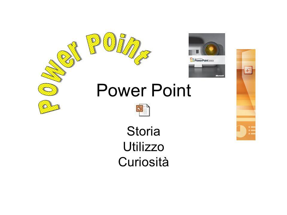 Power Point Storia Utilizzo Curiosità