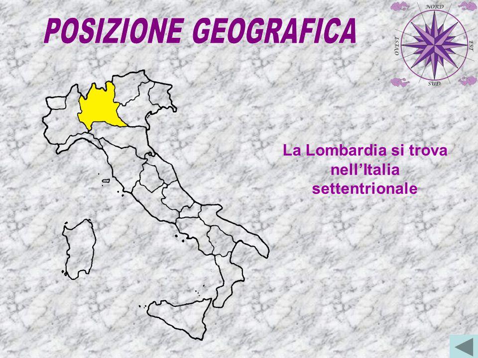 La Lombardia confina a est con il Trentino A.A.