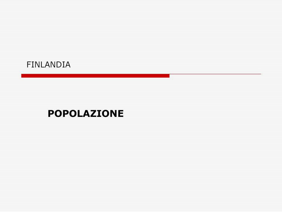 FINLANDIA POPOLAZIONE
