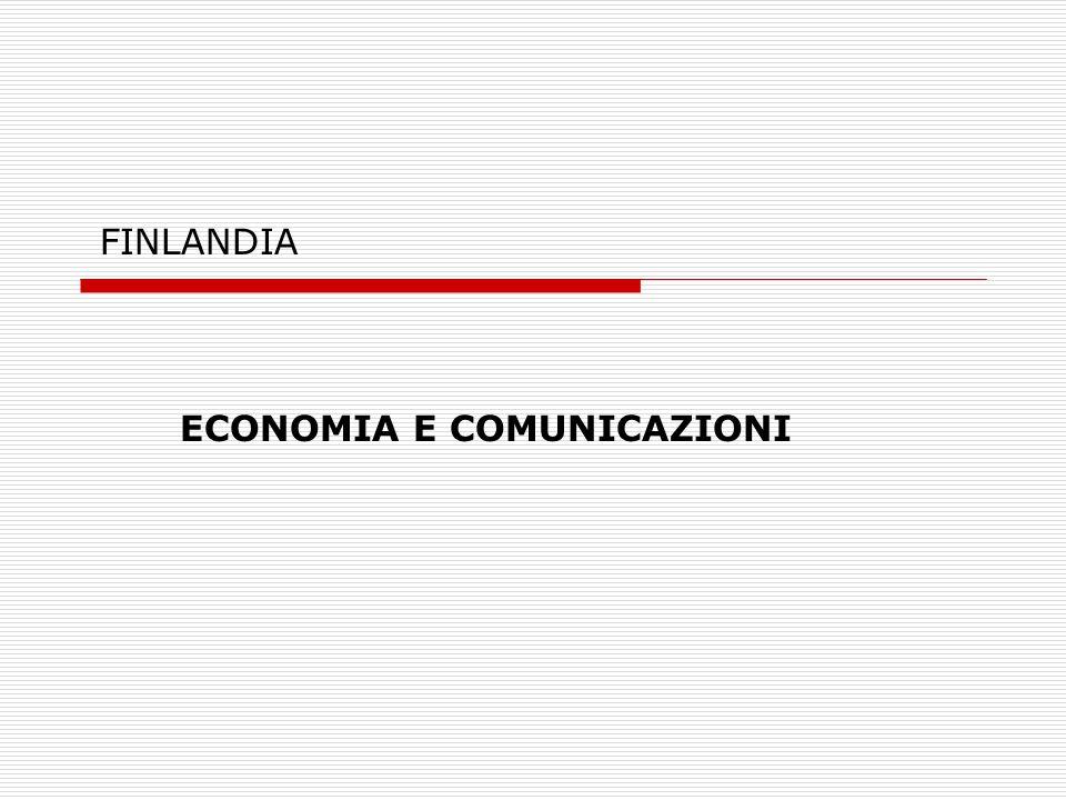 FINLANDIA ECONOMIA E COMUNICAZIONI