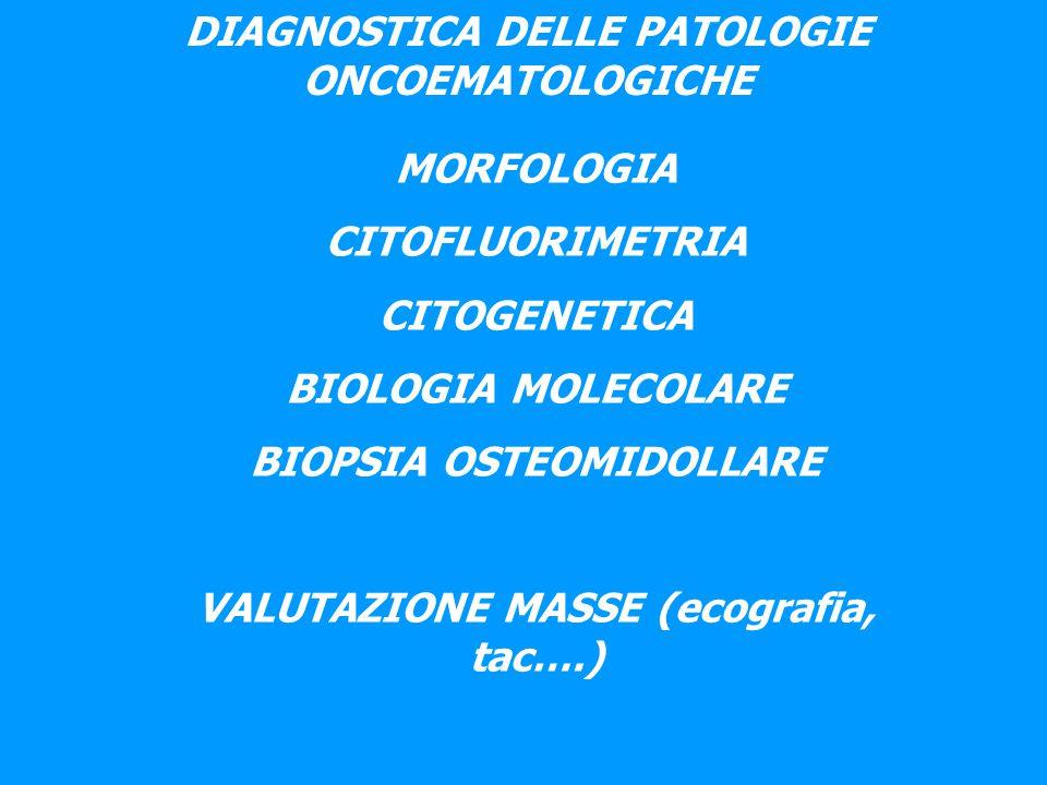 Gli strumenti ematologici non fanno diagnosi e non sono in grado di contare e classificare in modo accurato le cellule patologiche.