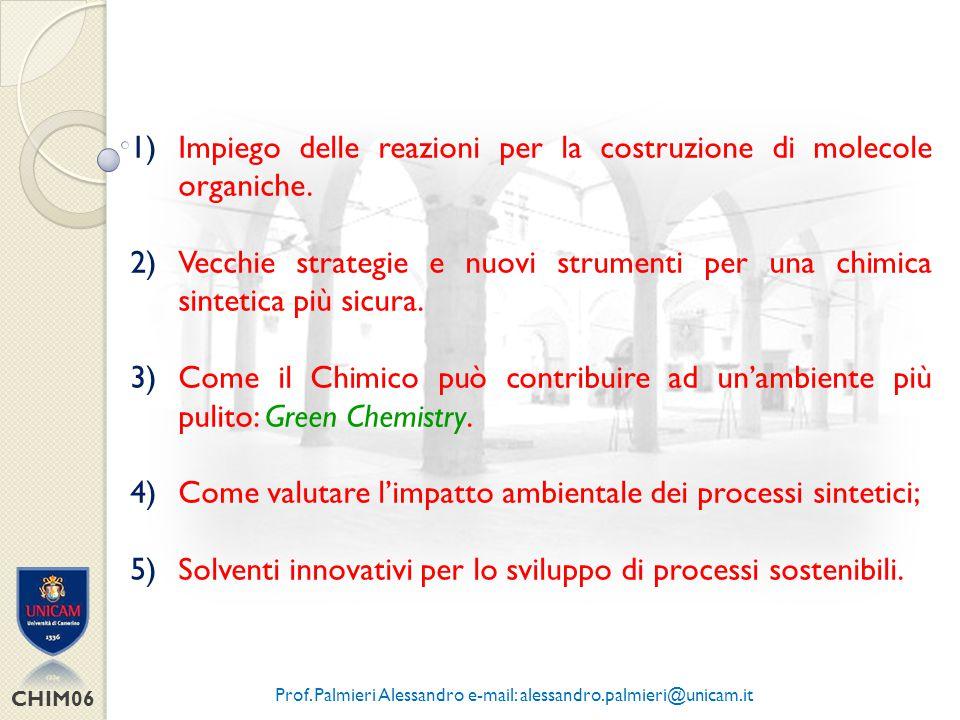 CHIM06 COSA FA IL CHIMICO ORGANICO .Nascita della chimica organica ( F.
