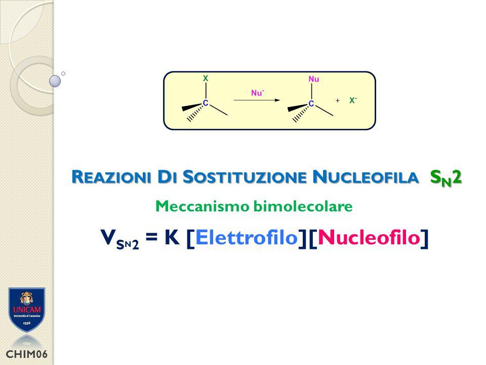 CHIM06 Sistemi elettrofilici altamente ingombrati (es.