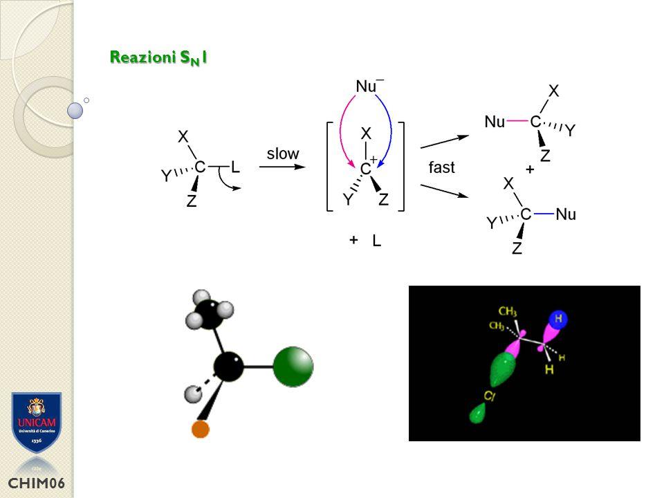 CHIM06 Reazioni S N 2