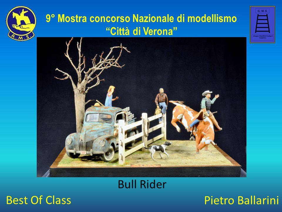 """Pietro Ballarini Bull Rider 9° Mostra concorso Nazionale di modellismo """"Città di Verona"""" Best Of Class"""