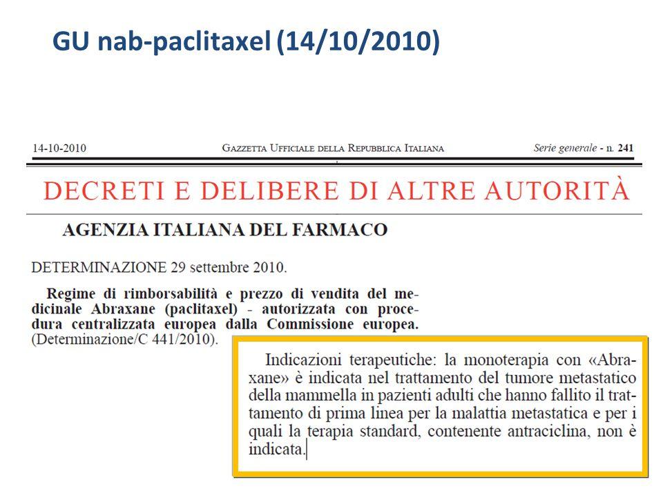 GU nab-paclitaxel (14/10/2010)
