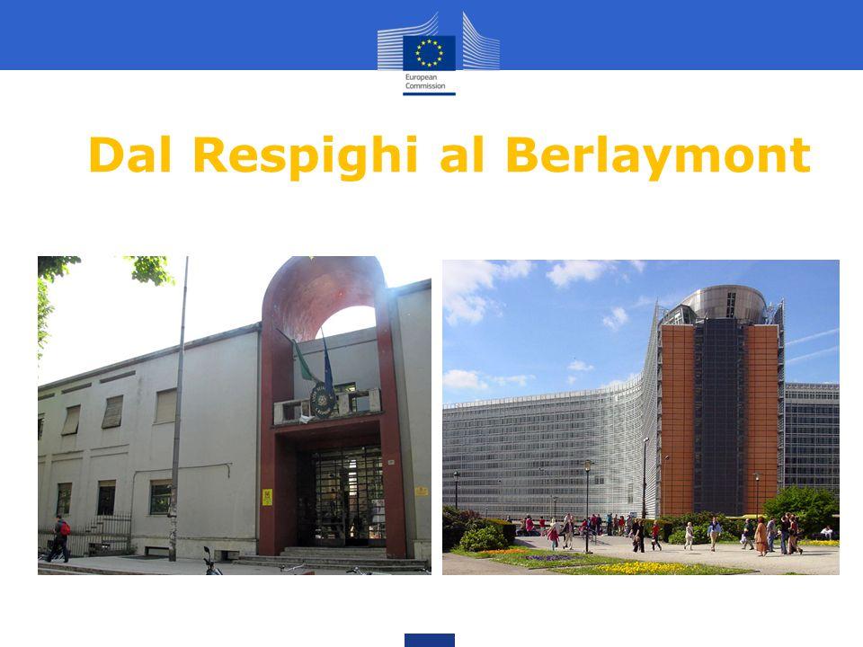 Dal Respighi al Berlaymont