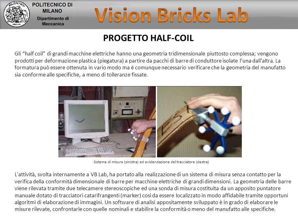 """PROGETTO HALF-COIL Gli """"half coil"""" di grandi macchine elettriche hanno una geometria tridimensionale piuttosto complessa; vengono prodotti per deforma"""