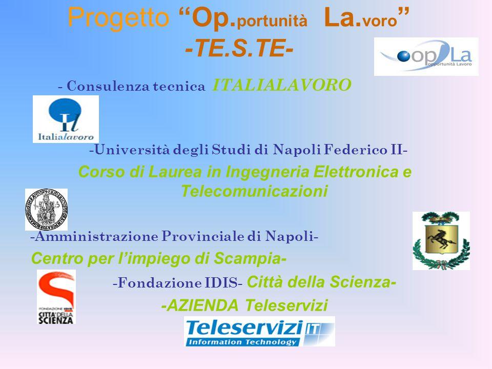 Progetto Op. portunità La.