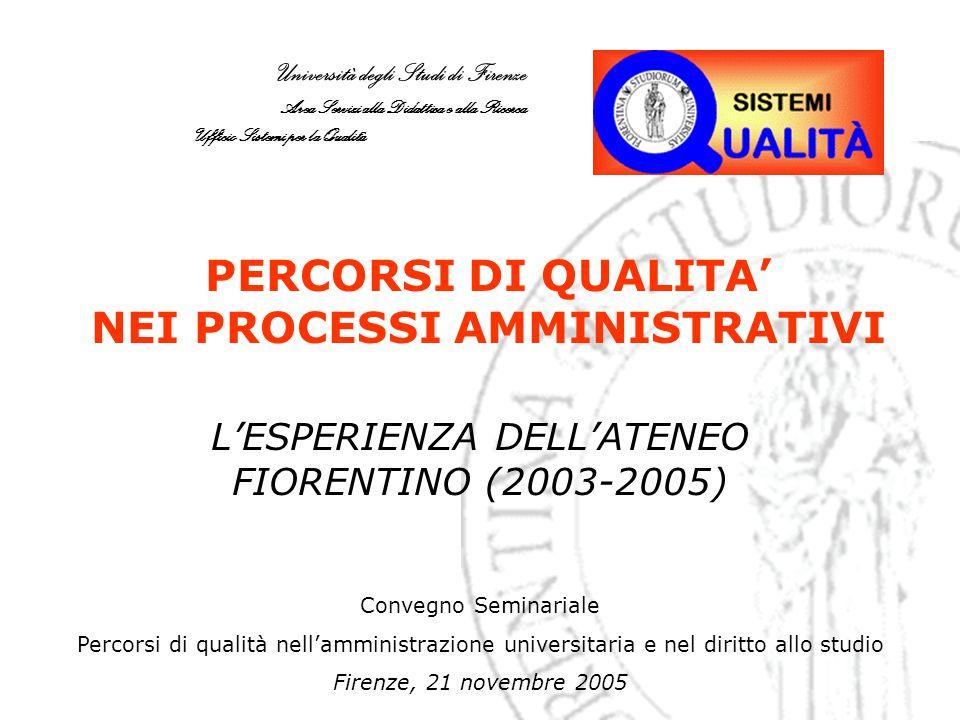 12 Rilevazione sulla Qualità negli Atenei italiani: descrizione Mail inviata dal Direttore Amministrativo, Dott.