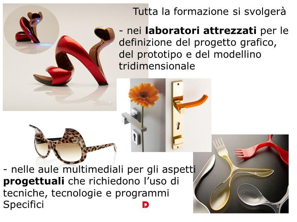 conoscere e padroneggiare i processi progettuali e operativi e utilizzare in modo appropriato tecniche e materiali in relazione al design D