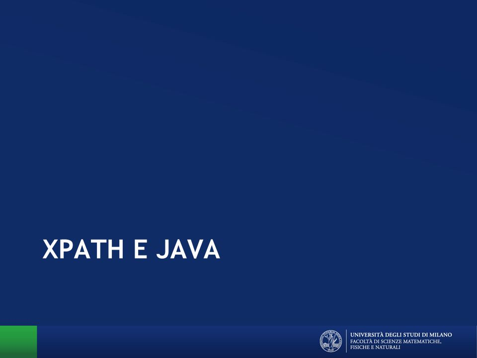 XPATH E JAVA