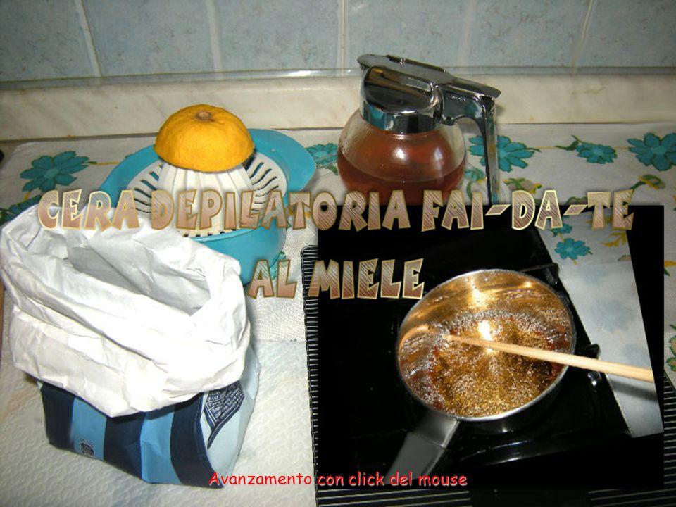 Il caramello così lavorato, con le dita umide, assume una forma traslucida e il sapore è ottimo, proprio come le caramelle al miele!