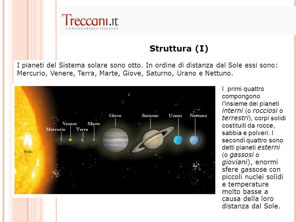 I pianeti del Sistema solare sono otto. In ordine di distanza dal Sole essi sono: Mercurio, Venere, Terra, Marte, Giove, Saturno, Urano e Nettuno. Str