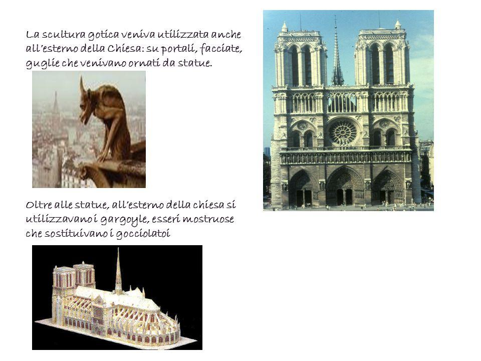 La pittura si sviluppa soprattutto in Italia, grazie alle scuole fiorentine e senesi.