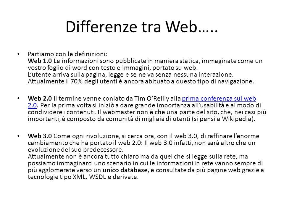 Web Services Description Language (WSDL) 1.1 è un linguaggio formale in formato XML utilizzato per la creazione di documenti per la descrizione di Web Service.linguaggio formaleXMLWeb Service Mediante WSDL può essere, infatti, descritta l interfaccia pubblica di un Web Service ovvero creata una descrizione, basata su XML, di come interagire con un determinato servizio: un documento WSDL contiene infatti, relativamente al Web Service descritto, informazioni su:interfaccia cosa può essere utilizzato (le operazioni messe a disposizione dal servizio); come utilizzarlo (il protocollo di comunicazione da utilizzare per accedere al servizio, il formato dei messaggi accettati in input e restituiti in output dal servizio ed i dati correlati) ovvero i vincoli (bindings in inglese) del servizio;protocolloinputoutputdatiinglese dove utilizzare il servizio (cosiddetto endpoint del servizio che solitamente corrisponde all indirizzo - in formato URI - che rende disponibile il Web Service)URI