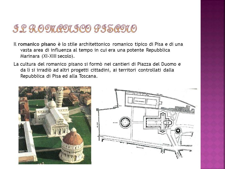 Il romanico pisano è lo stile architettonico romanico tipico di Pisa e di una vasta area di influenza al tempo in cui era una potente Repubblica Marin